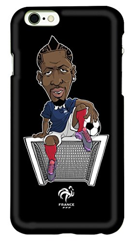 FFF beschermhoes voor iPhone 6, motief: Mamadou Sakho, officiële collectie van het Franse voetbalteam