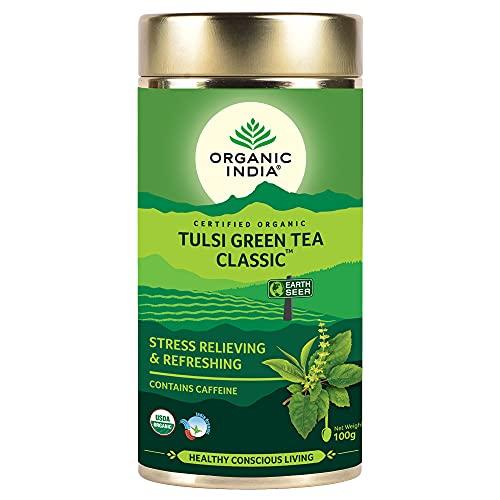 Organic India Classic Tulsi Green Tea, 100 gm
