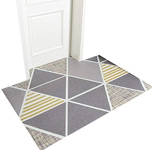 ZWRYW Deurmat, deurmat, langwerpig, voor woonkamer, balkon, badkamer, gemakkelijk te reinigen