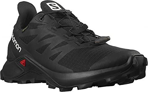 SALOMON Shoes Supercross 3, Zapatillas de Trail Running Mujer, Black/Black/Black, 40 EU