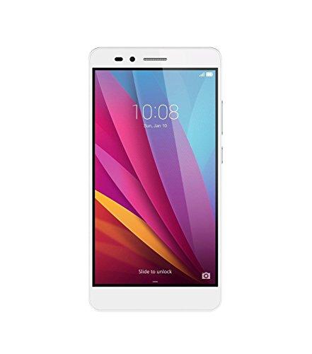 Honor 5X Smartphone (14cm (5,5pollici) display touch, memoria interna da 16GB, Dual SIM, Android 5.1), color argento