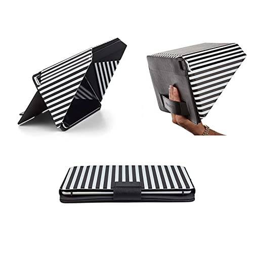 New Technology! Made from Vegan Materials | Sun Shade & Privacy Cover fits 9.7'-11' iPads, Striped | Universal (Other Tablets Please Check Measurement Chart) | Patent No. D790551.
