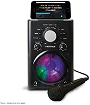 Singsation Karaoke Machine - Full Karaoke System with Wireless Bluetooth Speaker and Microphone. Works with all Karaoke Apps via Smartphone or Tablet