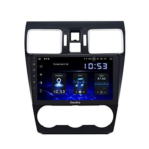 Dasaita 10.2 Zoll Android 10.0 Autoradio Bluetooth mit Carplay für Subaru Forester WRX VX 2016 2017 2018 Autoradio Touchscreen GPS 4GB/64GB Unterstützt DSP WiFi USB FM/AM Android Auto