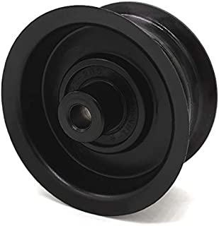 Phoenix Mfg. 2-3/4 Inch Flat Dia Flat Idler Pulley Replacement for Ariens 07324500 Briggs and Stratton Ferris Simplicity 7509