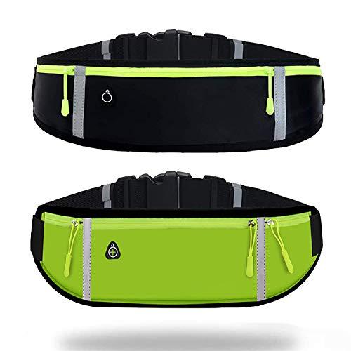 Running Belt Waist Bag with Waterproof Adjustable Elastic Strap,Running...
