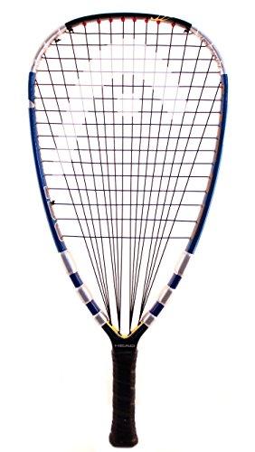 """HEAD Liquid Metal 190 Racquetball Racquet, (SS) 3 5/8"""" Grip"""
