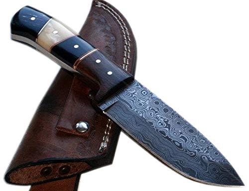 Price Reduced - BC-T-1092 - Custom Handmade Damascus Steel Knife- Beautiful knife