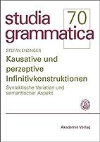 Kausative Und Perzeptive Infinitivkonstruktionen: Syntaktische Variation Und Semantischer Aspekt (Studia Grammatica)