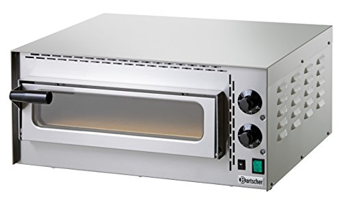Bartscher Mini Plus - pizza ovens (Electric, Cooking, Indoor, Stainless steel, Stainless steel)