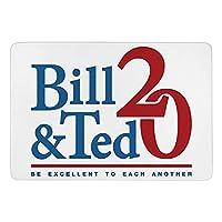 Bill And Ted 20 カーペット ラグ ラグマット 滑り止め 防ダニ 抗菌防臭 ふわふわ 年中使え 手触りよく フランネル 防音 玄関 廊下 引越しプレゼント 折畳み 洗濯機対応可 長方形 絨毯 100*150cm