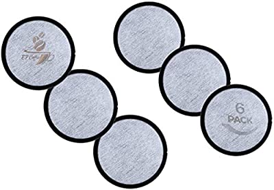Replacement Charcoal Water Filter Discs for Mr. Coffee Machines - Universal Fit Mr Coffee Compatible Filters - Mr Coffee Coffee Brewers (6 Pack)