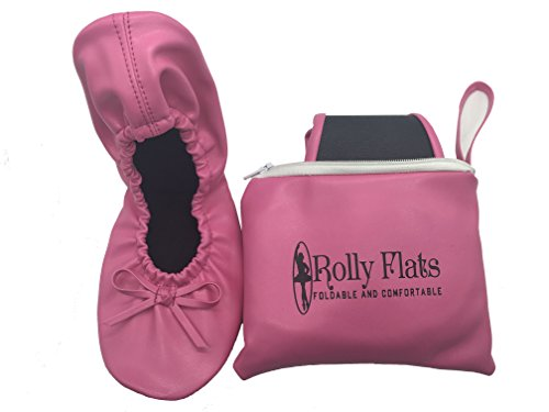 Rolly Flats - Bailarinas Plegables con Bolsa de Transporte para Mujer [RU...