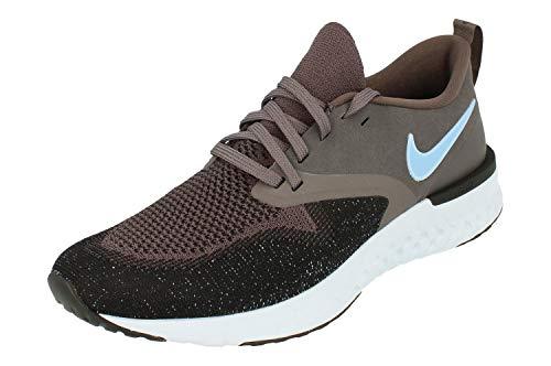 Nike reagieren sie odyssey 2 flyknit herren lauftrainer ah1015 turnschuhe schuhe (uk 9.5 us 10.5 eu 44.5, donner grau hellblau schwarz 008)