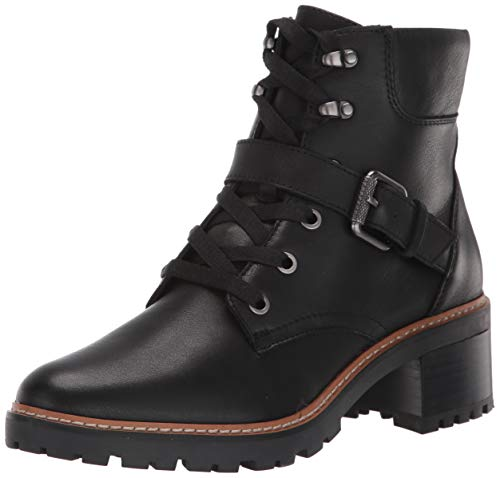 Naturalizer Womens Tia Black Leather Booties,10 M US