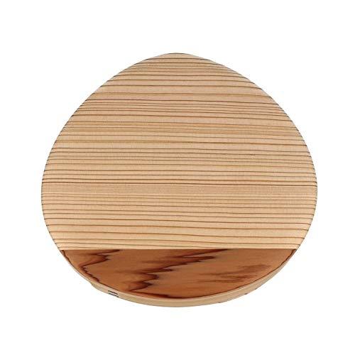 【クルミ油仕上】 名木 魚梁瀬杉 栗型おむすび弁当 やなせ杉 曲げわっぱ弁当箱 栗 弁当
