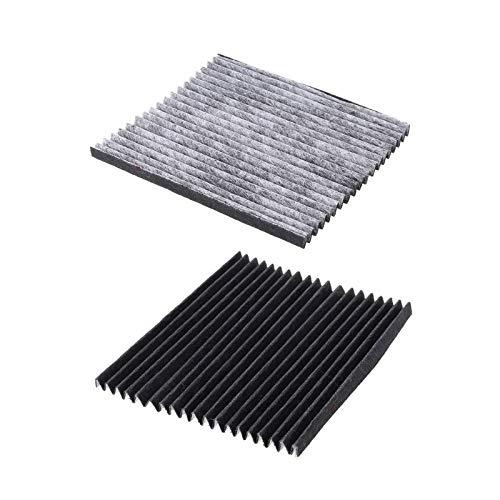 elemento filtrante purificador de aire Filtros de aire de refrigerador Reemplazo de malla de filtrado de carbón activado Compatible con electrolux EAFCBF Accesorios de nevera ( 2pcs/ paquete) Filtro