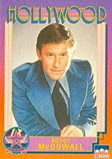 Roddy McDowall trading card (Planet of the Apes Cleopatra) 1991 Hollywood Walk Fame #104
