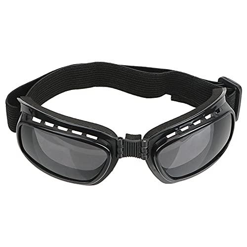 JTXQSI Bicchieri Occhiali da Sci Occhiali da Sci Anti Glare Protezione UV Occhiali da Moto Antivento Antipolvere a Prova di Motocross da Sole (Color : Gray)