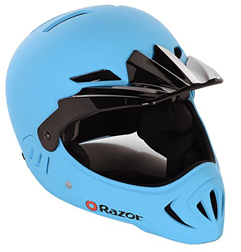 Razor Child Full Face Helmet, Matte Blue