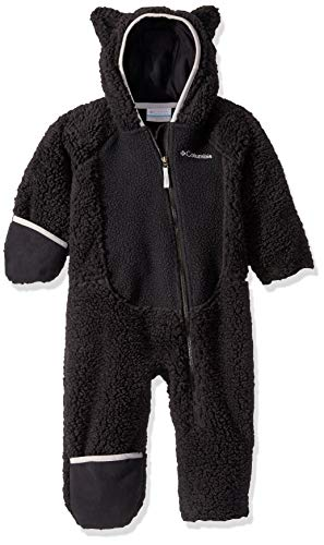 Columbia Foxy BabySherpa Bunting, Black/Slate Grey, 12/18