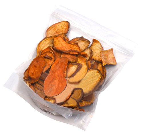 Pet Eden Sweet Potato Dog Treats Made in USA Only, Grain Free Natural Healthy Snack Chews for All Dogs, 1 lb