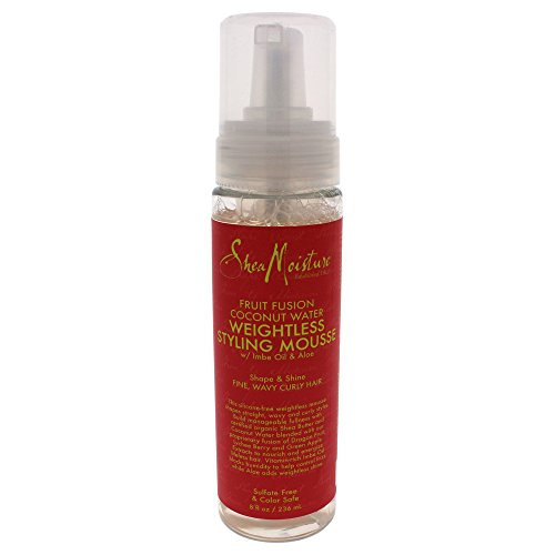 Espuma Fruit Fusion Coconut Water Weightless Styling Mousse by Shea Moisture