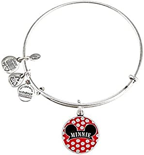 Disney Parks Alex and Ani Minnie Mouse Ears Hat Silver Charm Bracelet by Alex and Ani
