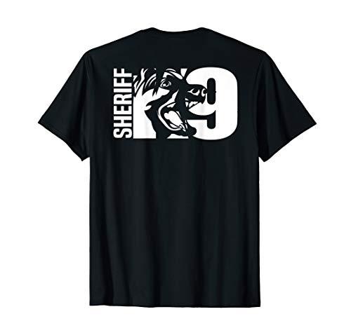 K-9 Sheriff Deputy T-Shirt LEO Off Duty Cops Law Enforcement