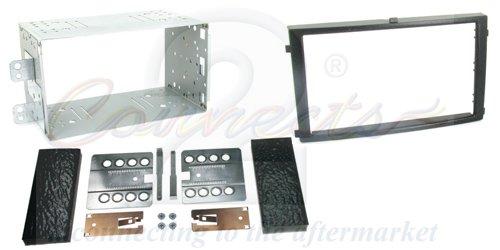 T1 Audio-T 1–23SY02 assiettes de façade d'autoradio Double DIN pour Ssangyong Actyon