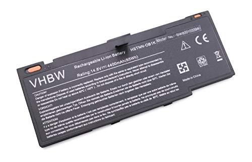 Batterie LI-ION 4000mAh 14.8V, Noir, pour HP Envy 14-1114ef Beats Edition etc. Remplace 592910-351, 592910-541, 593548-001