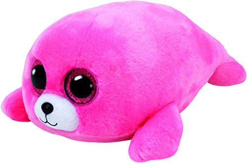 Carletto Ty 37085 37085-Pierre-Robbe mit Glitzeraugen, Pink, 23 cm