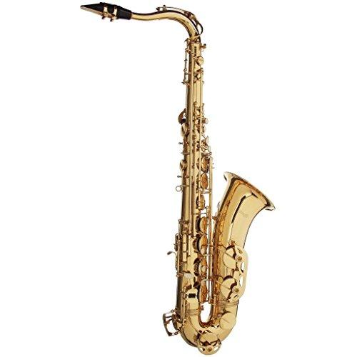 Capa transparente Stagg WS-TS215S B-Tenor suave de la caja del saxofón