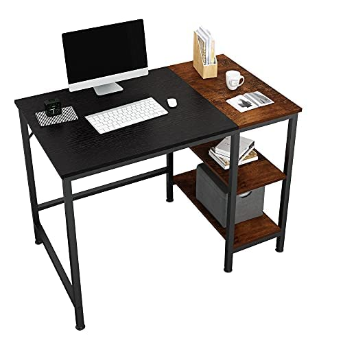 JOISCOPE Computer Desk With Shelves