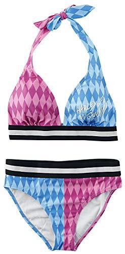 Birds of Prey Harley Quinn Frauen Bikini-Set Mehrfarbig S 85% Polyester, 15% Elasthan Fan-Merch, Film