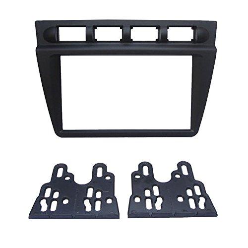 Feeldo 2DIN DVD de voiture radio Façade Cadre Tableau de bord d'installation support Cadre Panneau Trim Kit