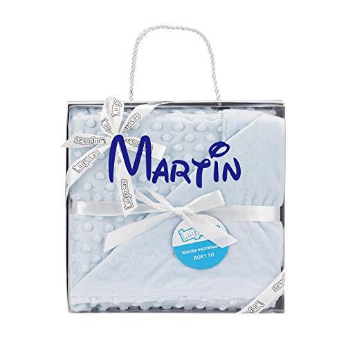 Manta para bebés, 0.80 x 1.10 m Manta para recién Nacidos Mantitas para Bebes Suave y Confortable Cálida niña y niño Mantas para Todas Las Estaciones (Manta Personalizado)