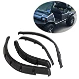 7BLACKSMITHS Front & Rear Fender Flares Compatible with 1993-Up Club Car DS Model 4 Pieces Standard