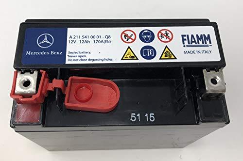 Recambios Originales Mercedes Benz - Batería Auxiliar 12Ah, A2115410001