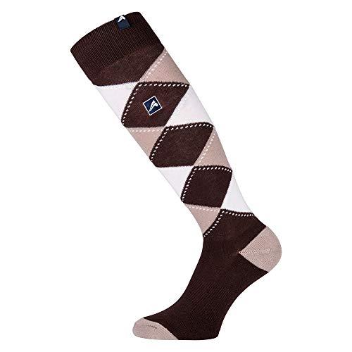 EURO-STAR Eurostar Checked Socks Chaussettes unisexe, 178, xl