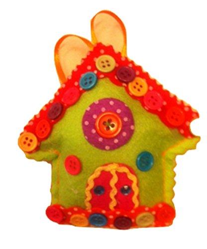 VIRCA Décoration Noël pannolencio, Environ 10 cm, 1 pièce, nichoir Vert
