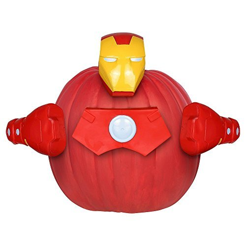 Marvel Avengers Iron Man Push-In Pumpkin Decorating Kit