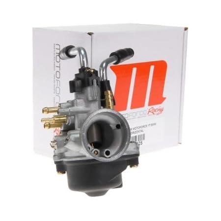 Vergaser Motoforce Racing 17 5mm Manueller Choke Für Minarelli Liegend Stehend Hd 90 Nd 34 Nadel A12 Auto