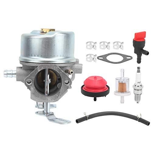 Surebuy Juego de carburador, para Tecumseh 8HP 9HP 10HP, Accesorios para máquinas Cortacésped Accesorios para Tractor,