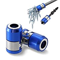 """YANHUA Screwdriver Magnetic Ring Strong Magnetizer 1/4"""" 6.35mm Electric Screwdriver Bits Accessories Screw Pick Up Tools"""