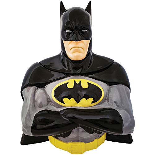 Spoontiques Batman Sculpted Cookie Jar, One size, Multicolored