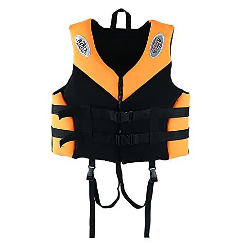 GAYBJ Chaleco Salvavidas Adulto Ayuda a la flotabilidad de la Chaqueta de natación para natación Flotante al Aire Libre, navegación, Kayak, lancha motora, Pesca, Buceo, natación