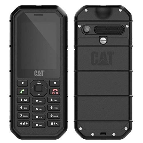 CAT B26 Dual Sim Rugged Phone (GSM Only, No CDMA) Factory Unlocked 2G GSM (Black) (Renewed)