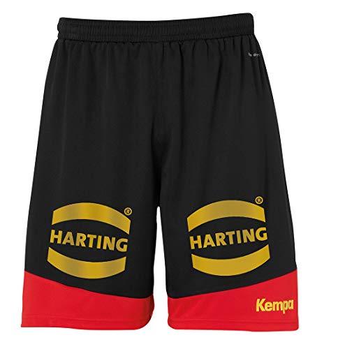 Kempa Kinder DHB Shorts, schwarz, 128