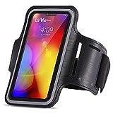 UC-Express Sportarmband kompatibel für LG V40 ThinQ Jogging Handy Tasche Hülle Schutzhülle Fitnesstasche Lauf Hülle